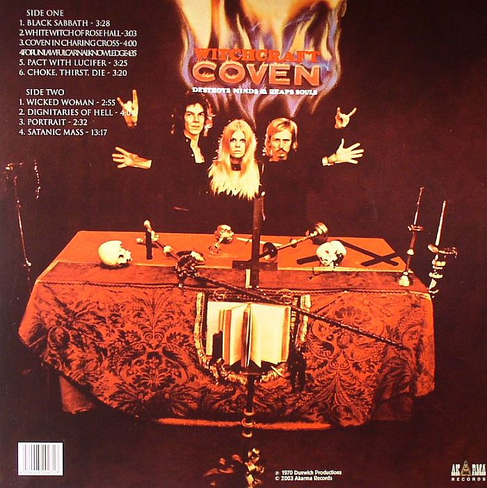 COVEN Witchcraft Destroys Minds & Reaps Souls vinyl at Juno Records