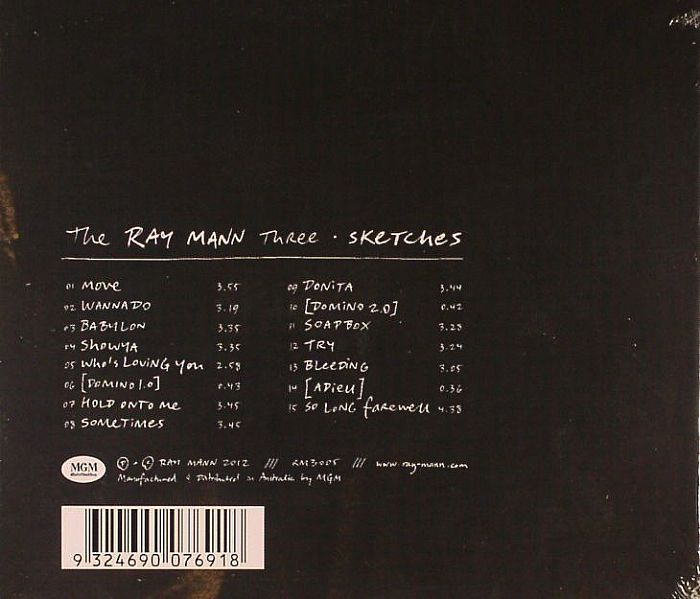 RAY MANN THREE, The - Sketches