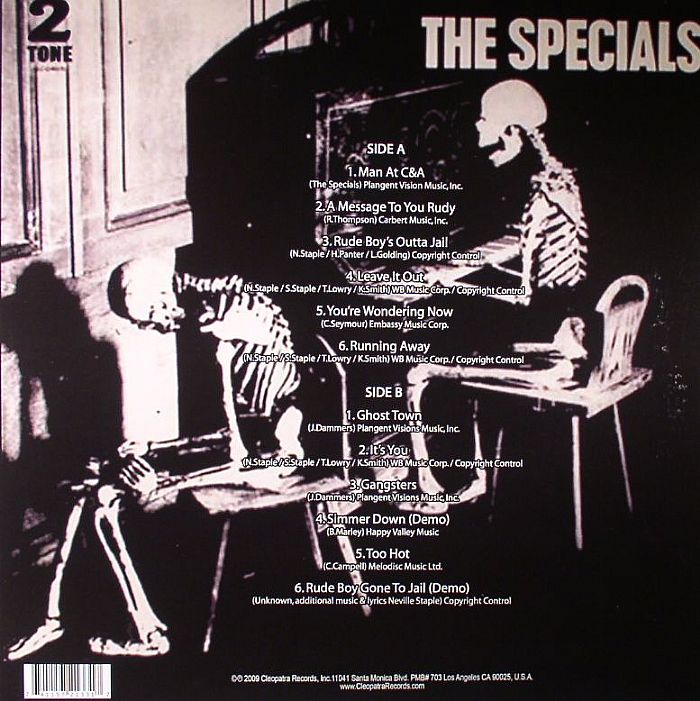 SPECIALS aka THE NEVILLE STAPLES BAND - Ghost Town