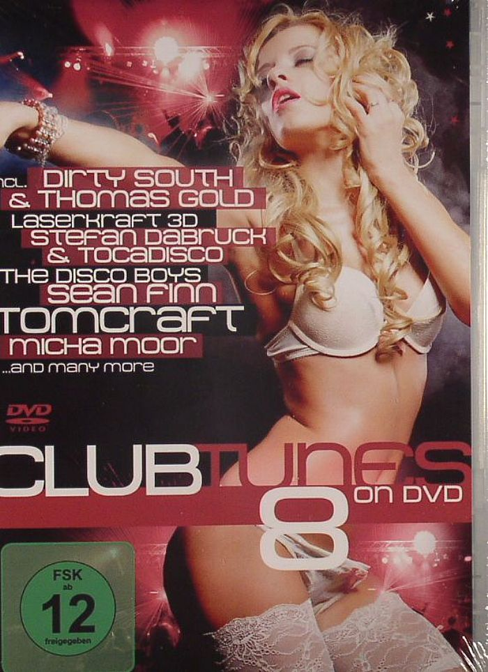 VARIOUS - Clubtunes 8 On DVD