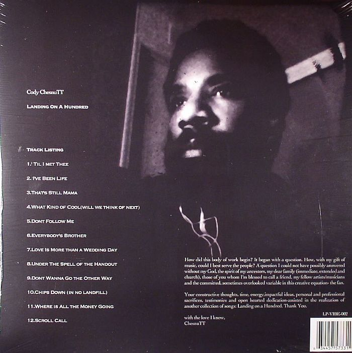Cody Chesnutt Landing On A Hundred Vinyl At Juno Records