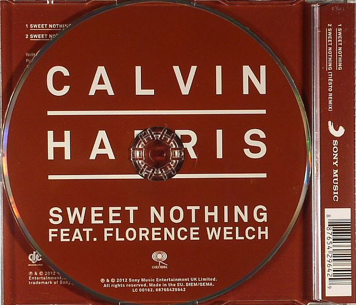 Calvin HARRIS feat FLORENCE WELCH Sweet Nothing vinyl at ...