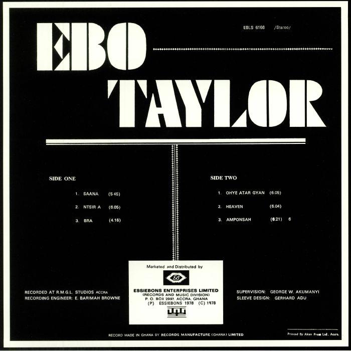 TAYLOR, Ebo - Ebo Taylor