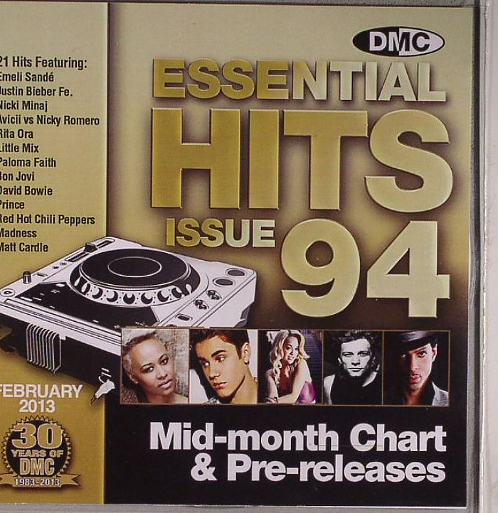 VARIOUS - Essential Hits 94 Mid Month Chart & Pre Releases (Strictly DJ Only)