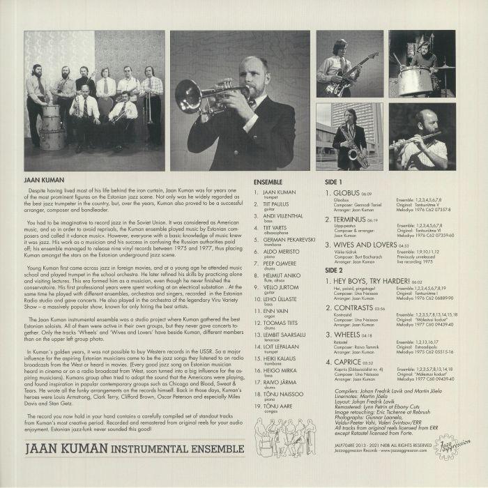 JAAN KUMAN INSTRUMENTAL ENSEMBLE - Jaan Kuman Instrumental Ensemble