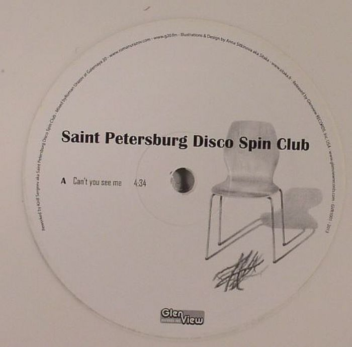 SAINT PETERSBURG DISCO SPIN CLUB - Can't You See Me