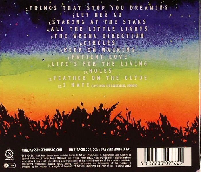 PASSENGER All The Little Lights (Deluxe) vinyl at Juno ...