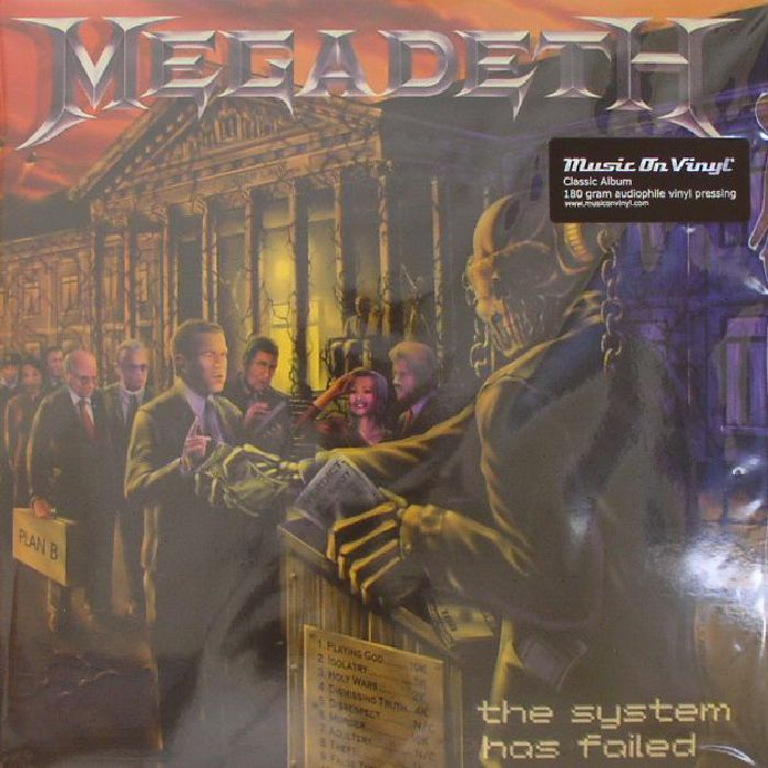 MEGADETH The System Has Failed vinyl at Juno Records.