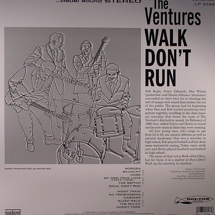The Ventures Walk Don T Run Vinyl At Juno Records