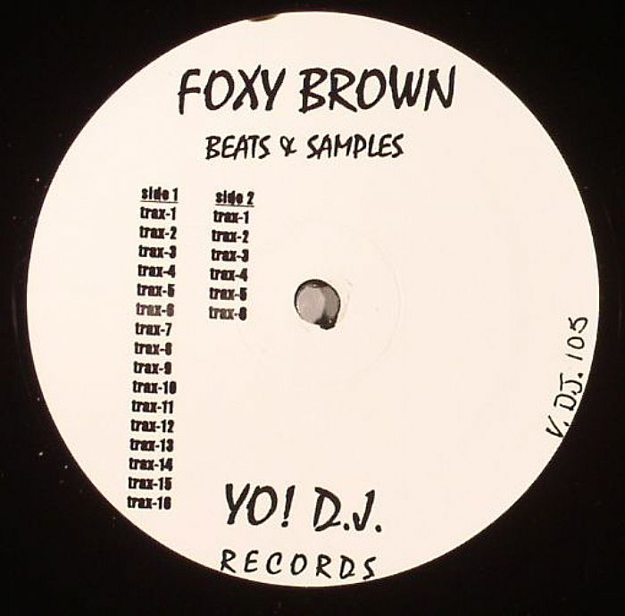 BROWN, Foxy - Beats & Samples (warehouse find)