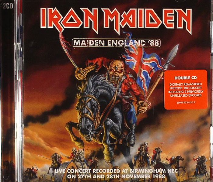 IRON MAIDEN - Maiden England '88 (remastered)