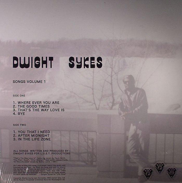 SYKES, Dwight - Songs Volume 1
