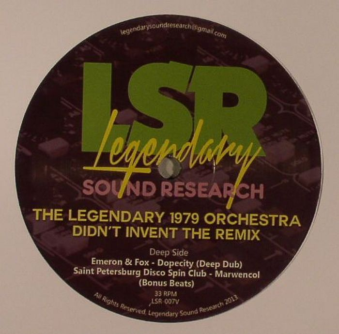 LEGENDARY 1979 ORCHESTRA, The - Didn't Invent The Remix