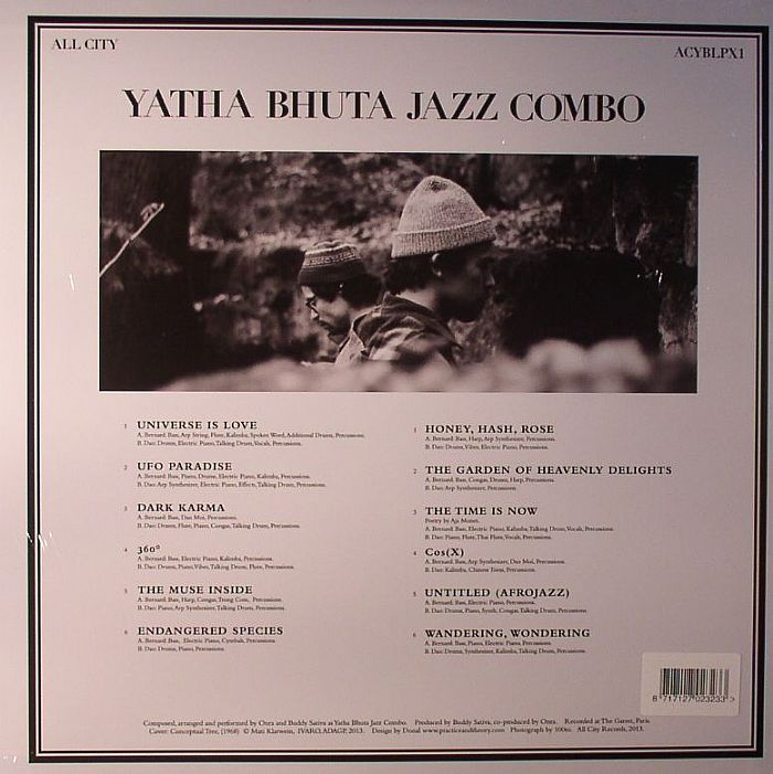 YATHA BHUTA JAZZ COMBO - Yatha Bhuta Jazz Combo