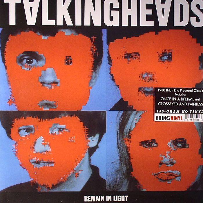 TALKING HEADS Remain In Light vinyl at Juno Records.
