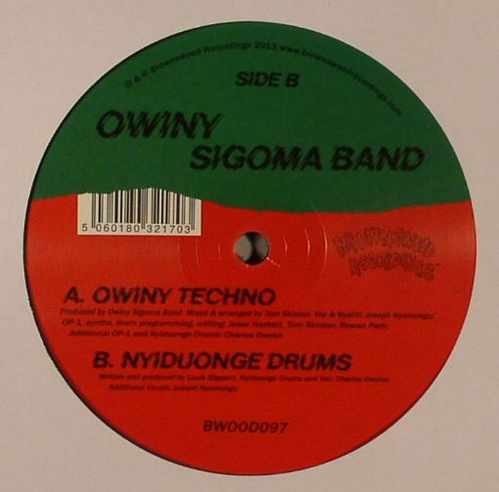 OWINY SIGOMA BAND - Owiny Techno