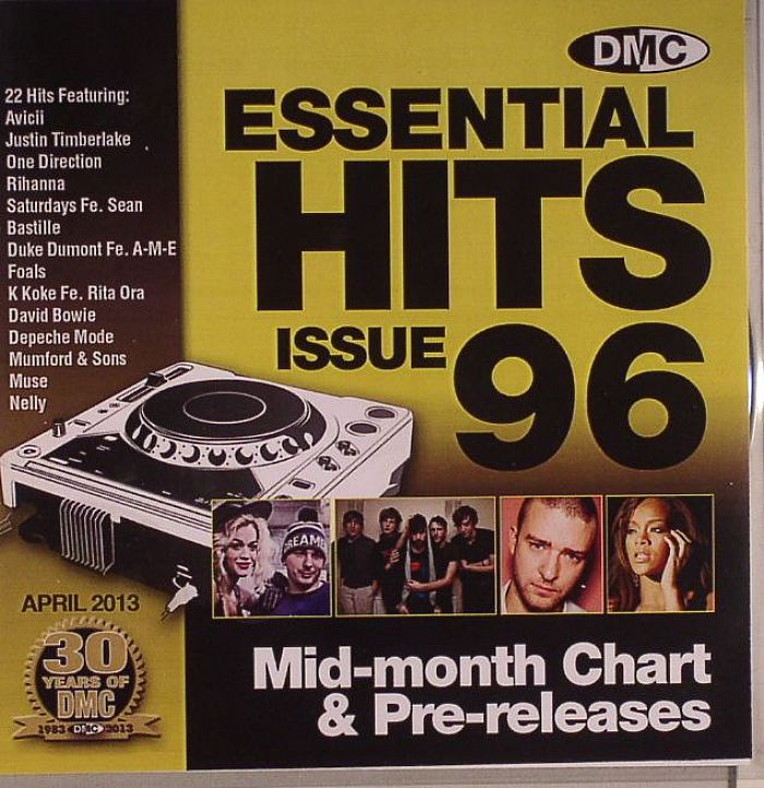 VARIOUS - Essential Hits 96 Mid Month Chart & Pre Releases (Strictly DJ Only)