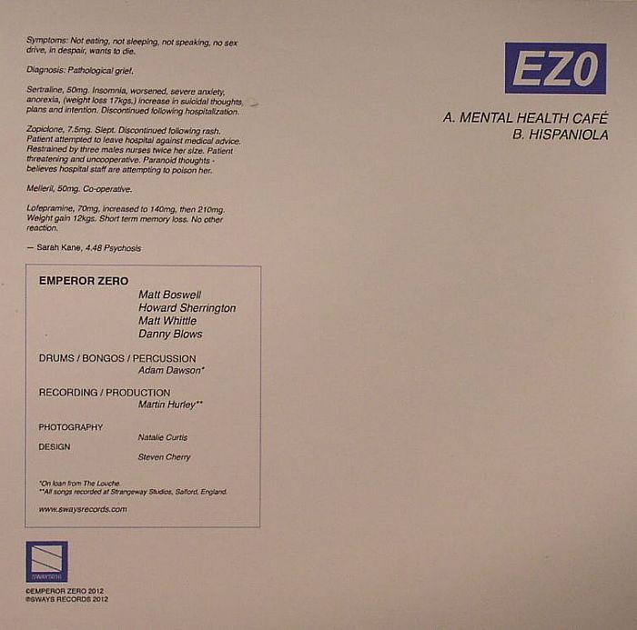 EMPEROR ZERO - Mental Health Cafe