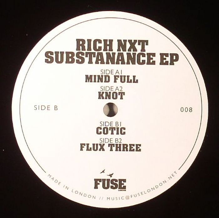 RICH NXT - Substanance EP