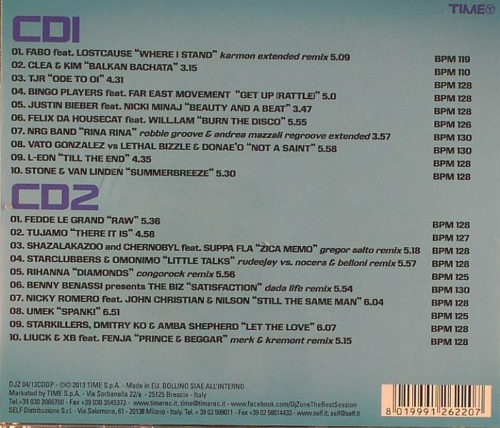 VARIOUS - DJ Zone Best Session 04/2013