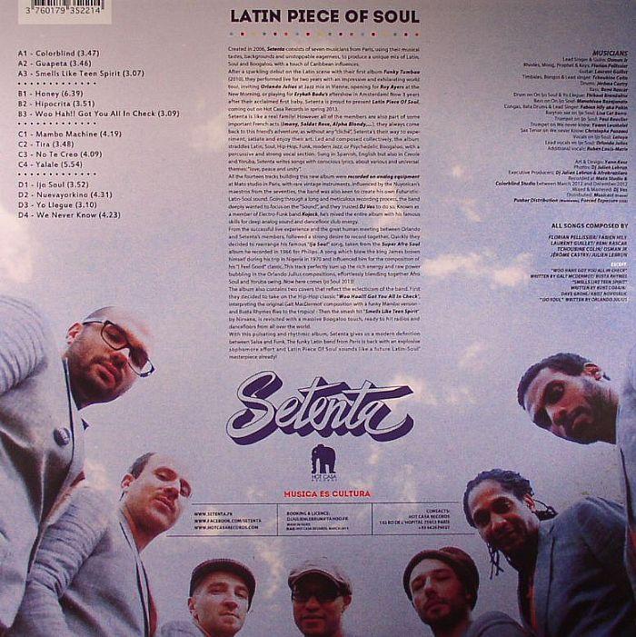 SETENTA - Latin Piece Of Soul