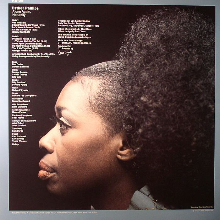 Esther PHILLIPS Alone Again, Naturally vinyl at Juno Records