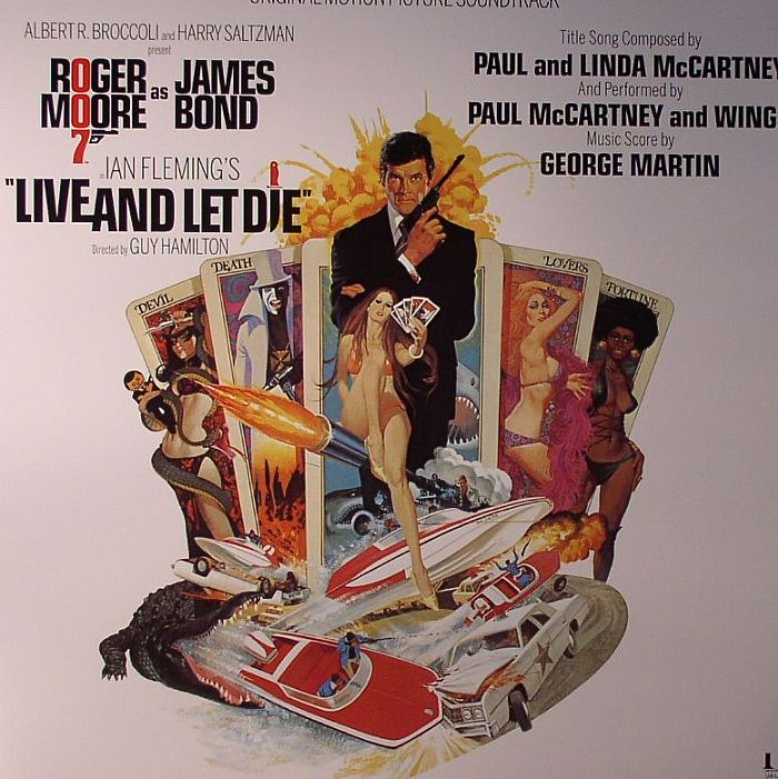 MARTIN, George/VARIOUS - Live & Let Die (Soundtrack)