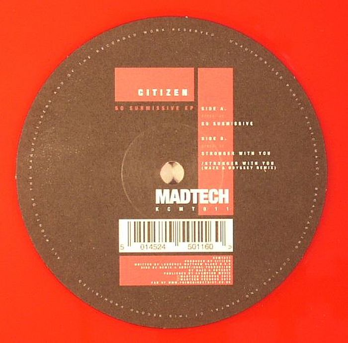 CITIZEN - So Submissive EP