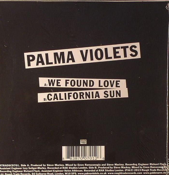 PALMA VIOLETS - We Found Love
