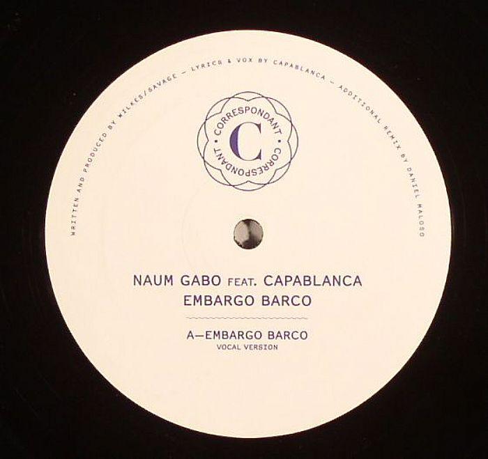 GABO, Naum feat CAPABLANCA - Embargo Barco
