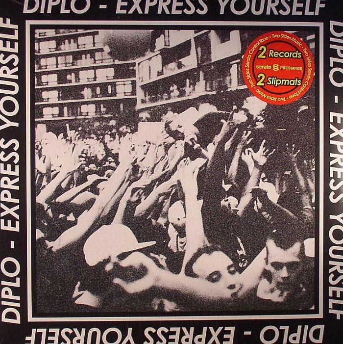 DIPLO - Express Yourself EP (Serato Control Vinyl Collab)