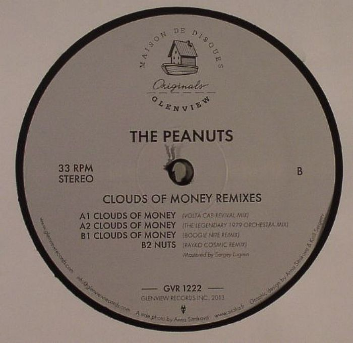 PEANUTS, The - Clouds Of Money Remixes