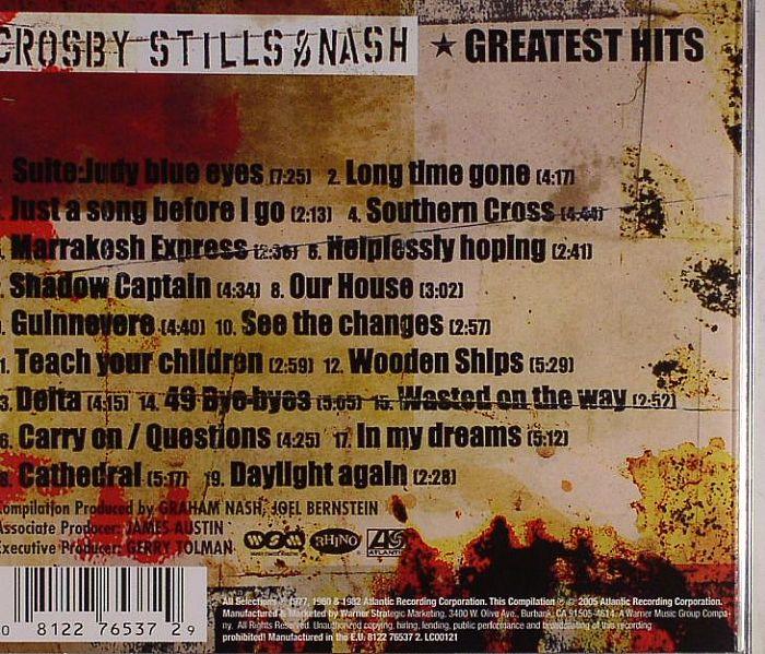 Crosby Stills Amp Nash Greatest Hits Vinyl At Juno Records