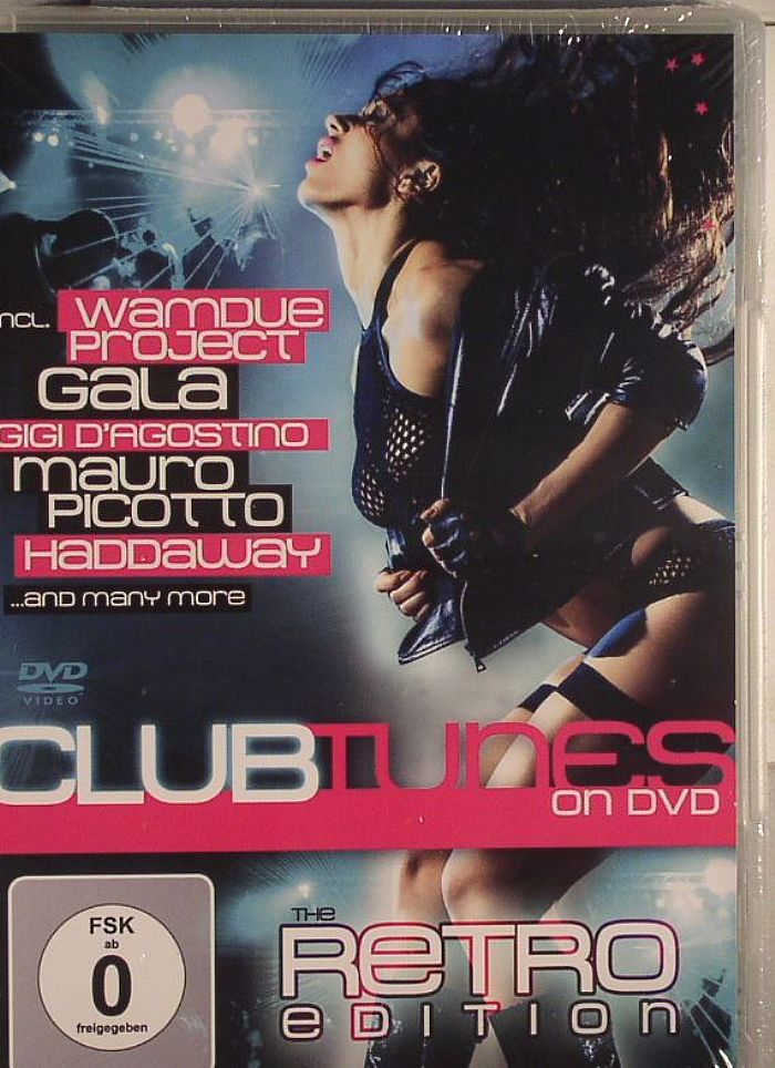 VARIOUS - Clubtunes On DVD: The Retro Edition