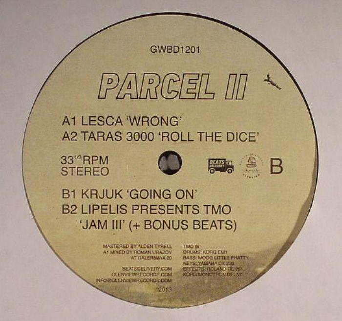 LESCA/TARAS 3000/KRJUK/LIPELIS presents TMO - Parcel II