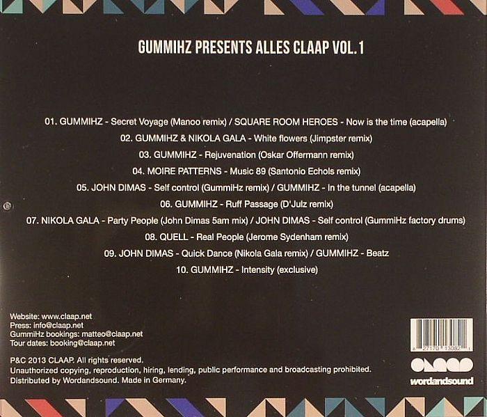 GUMMIHZ/VARIOUS - Alles Claap Vol 1