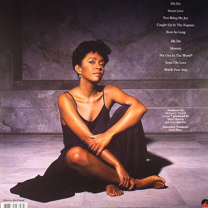 Anita Baker Rapture Vinyl At Juno Records