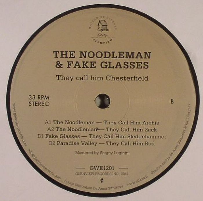 NOODLEMAN, The/FAKE GLASSES - They Call Him Chesterfield