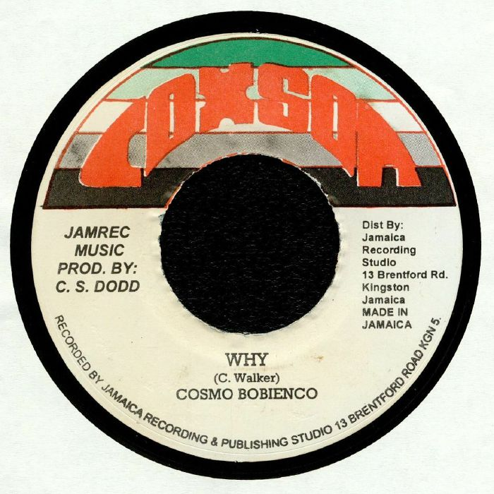 BOBIENCO, Cosmo/SOUND DIMENSION - Why (reissue)