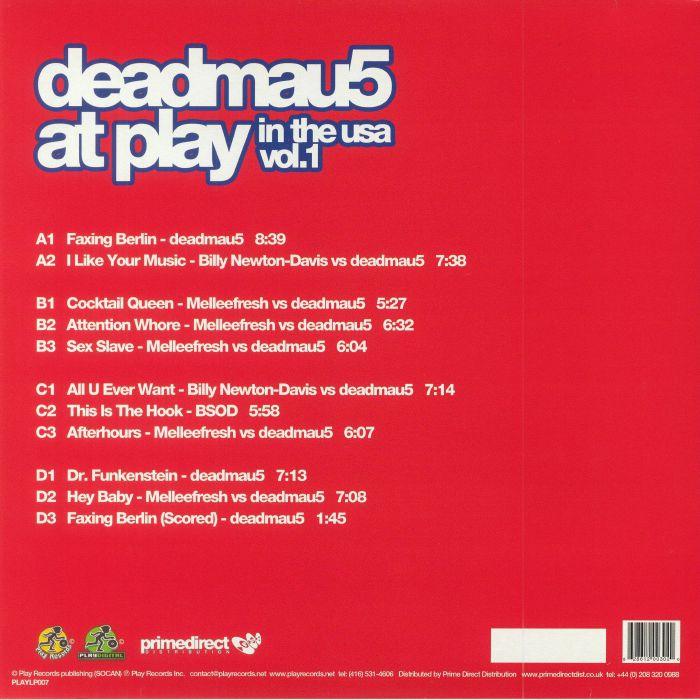 DEADMAU5/VARIOUS - Deadmau5 At Play In The USA Vol 1
