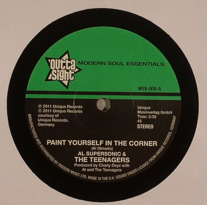 SUPERSONIC, Al & THE TEENAGERS - Paint Yourself In A Corner