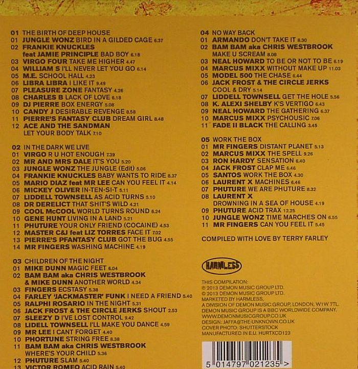Terry farley various acid rain definitive chicago acid for Deep acid house