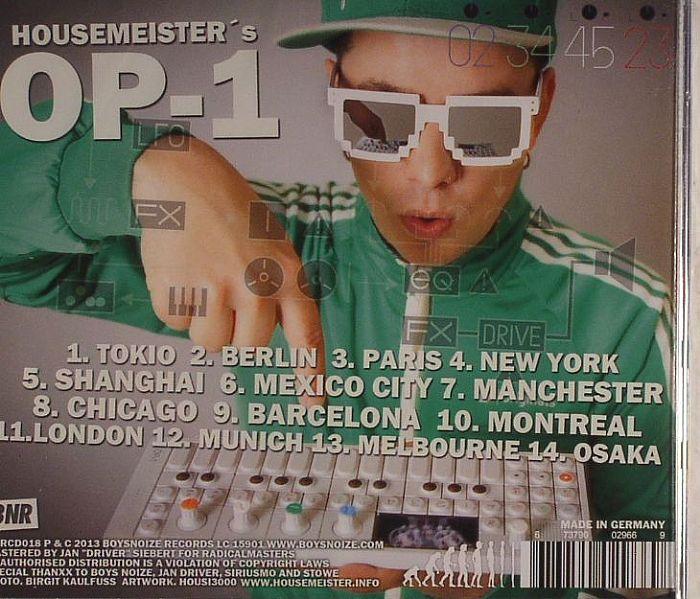 HOUSEMEISTER - Op 1
