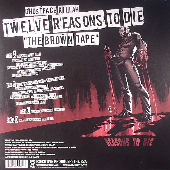 Ghostface Killah Twelve Reasons To Die The Brown Tape