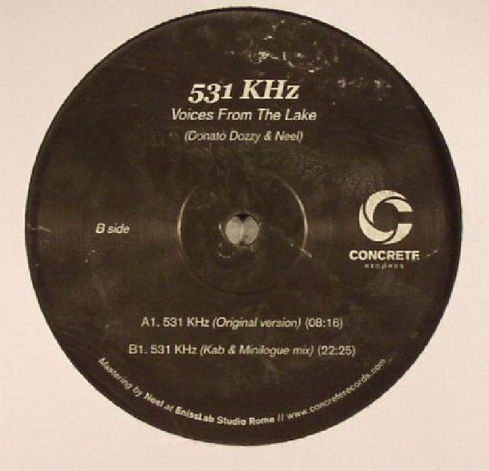 VOICES FROM THE LAKE aka DONATO DOZZY/NEEL - 531 KHz