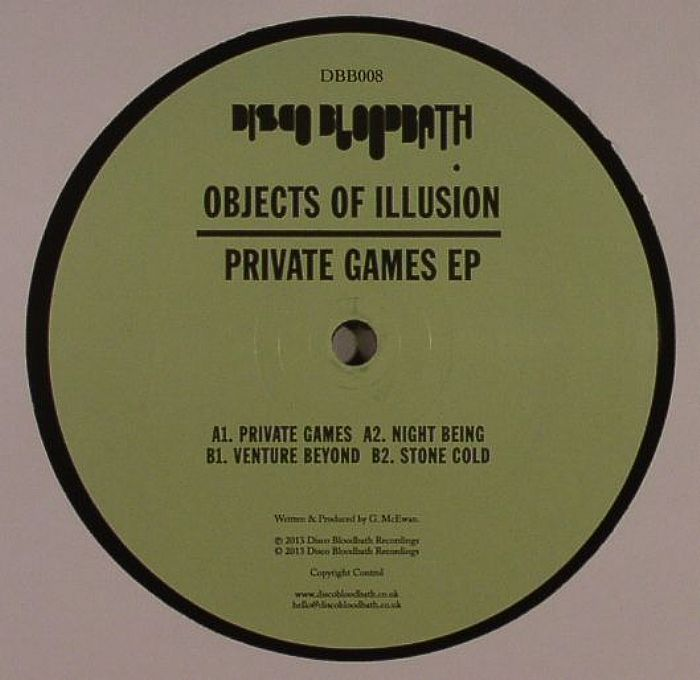 OBJECTS OF ILLUSION - Private Games EP