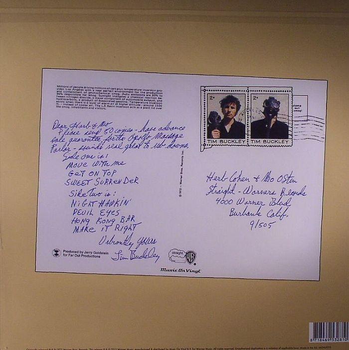 Tim Buckley Greetings From La Vinyl At Juno Records