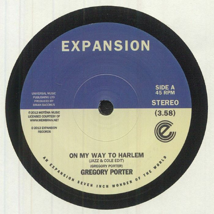 PORTER, Gregory - On My Way To Harlem