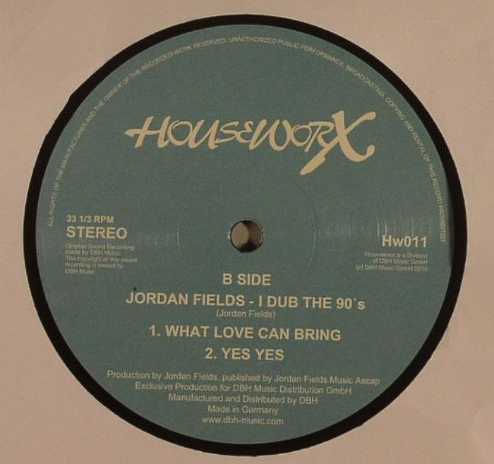 FIELDS, Jordan - I Dub The 90s