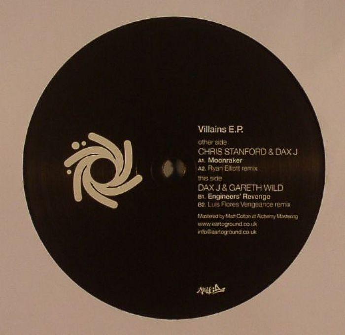 STANFORD, Chris/DAX J/GARETH WILD - Villains EP